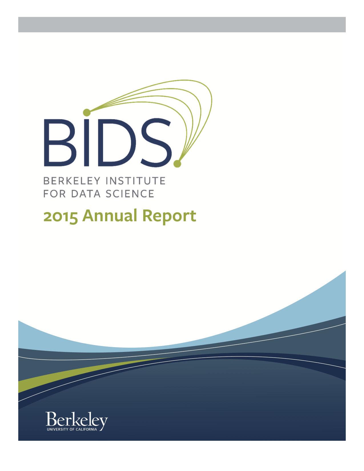 2015 BIDS Annual Report - Cover Page