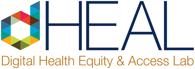 Berkeley dHEAL - Digital Health Equity and Access Lab - logo banner