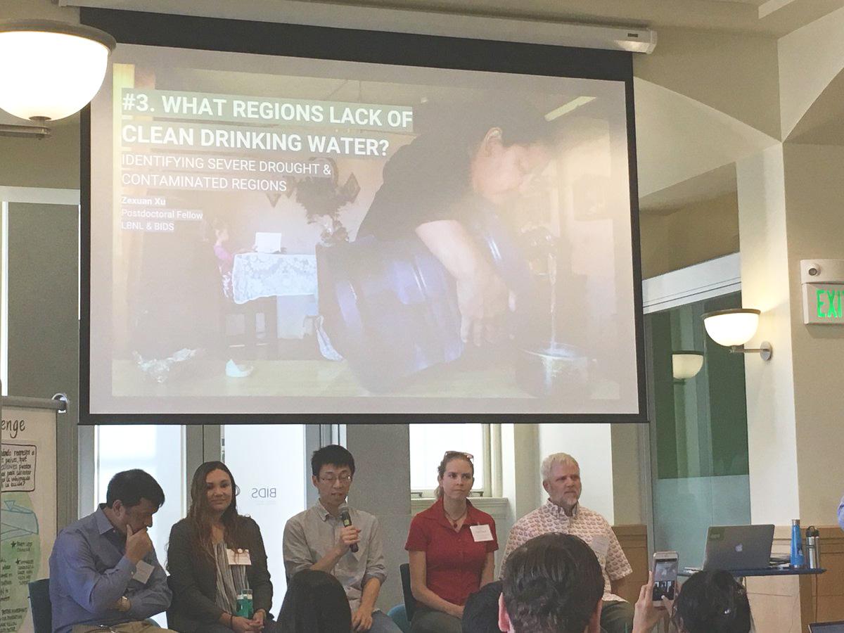 Hackathon opening panel