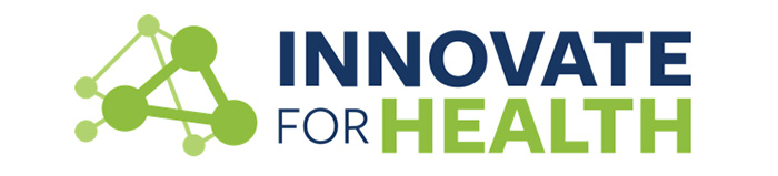 Innovate For Health - logo icon banner 700