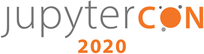 JupyterCon 2020 banner logo