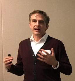 Mongeau speaking at SJSU