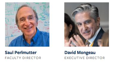 Saul Perlmutter, BIDS Faculty Director, and David Mongeau, BIDS Executive Director