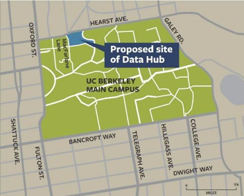 Proposed site of Data Hub