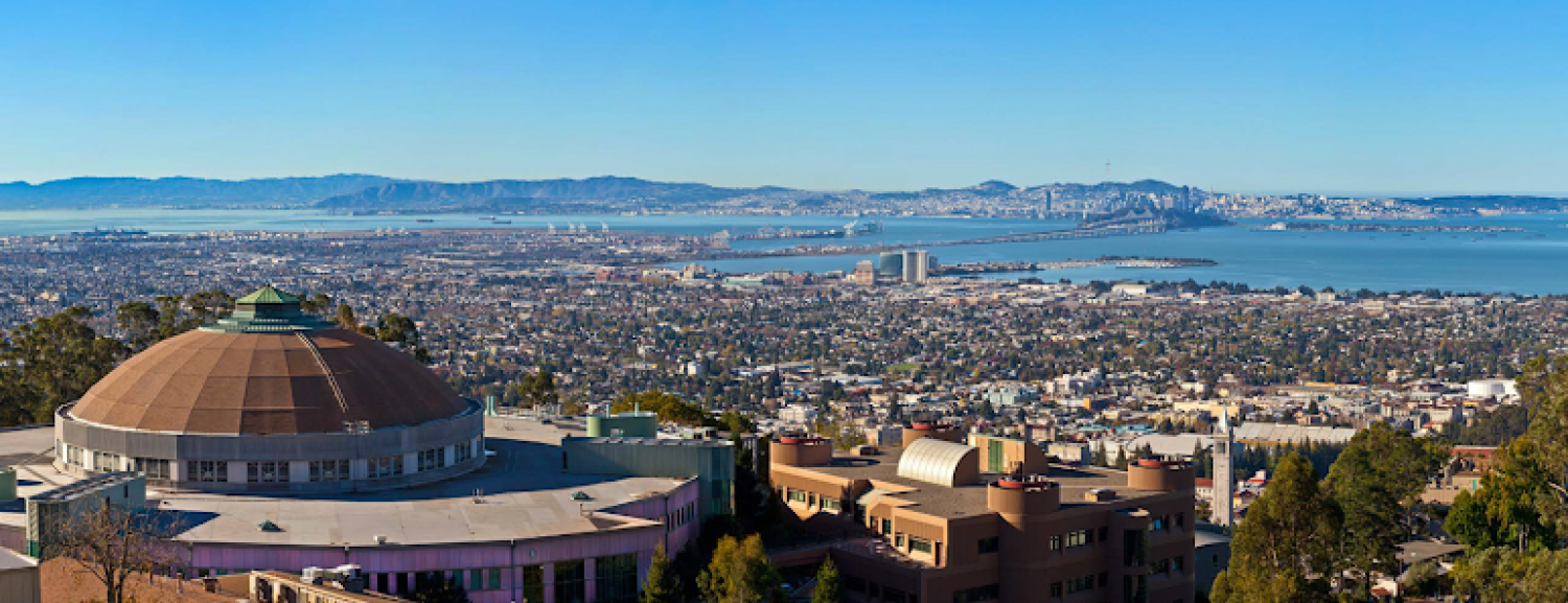 LBNL - View of the Bay over the ALS