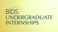 BIDS Undergraduate Internships - program project page banner