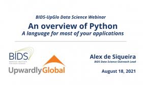 2018-0818 - Intro Slide - Python - BIDS-UpGlo Webinars