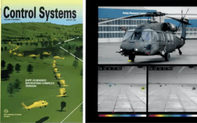 Control systems slide with helicopter photo