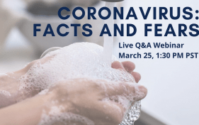 2020-0325 - SHP Coronavirus Facts Fears - video thumbnail