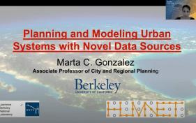 Marta Gonzalez - opening slide