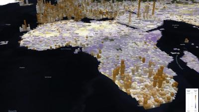 Blumenstock - URAP COVID-19 project image - Africa topo map