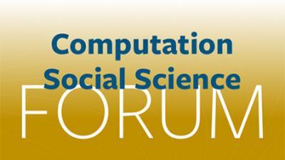 Computational Social Science Forum - logo banner