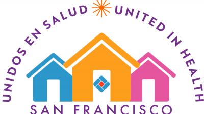 United in Health / Unidos en Salud banner logo