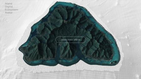 Moorea island image banner