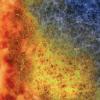 NERSC Perlmutter Supercomuter mural - thumbnail image