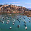 Water levels of Lake Oroville in Butte County sit at 38% capacity on Monday, May 31, 2021, as California heads into another drought year. (Photo: Frank Schulenburg)