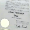 Maya Petersen Day Proclamation - thumbnail square