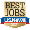 USNews Best Jobs 2021 badge icon - thumbnail square