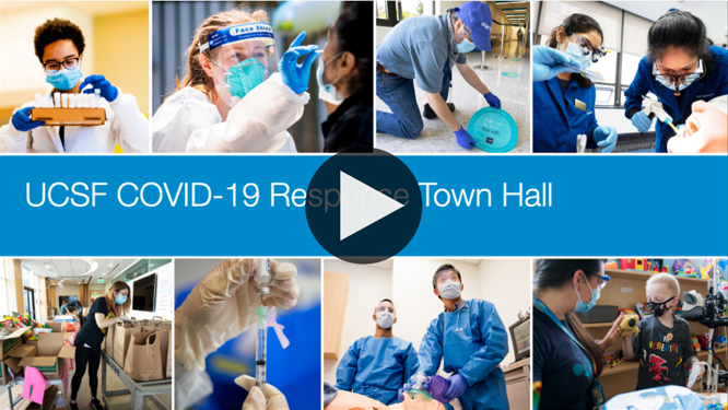 UCSF COVID-19 Response Town Hall - video thumbnail